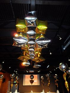 Awesome Display with the Ultra balloons from Anagram International.