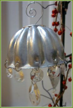 Repurposed Vintage Jello Mold Ornament featuring Susan from Homeroad {Handmade Ornament No.16} - bystephanielynn