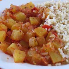 Fruit Salad, Potato Salad, Potatoes, Ethnic Recipes, Food, Fruit Salads, Potato, Essen, Meals