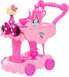 Disney's Minnie Mouse Happy Helpers Tea Cart Minnie Mouse Nursery, Minnie Mouse Toys, Toy Cars For Kids, Toys For Girls, Disney Gift, Disney Toys, Baby Girl Toys, Baby Dolls, Little Girl Makeup Kit