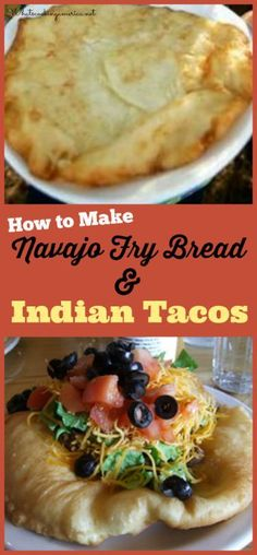 How To Make Najavo Fry Bread & Indian Tacos | http://whatscookingamerica.net/History/NavajoFryBread.htm