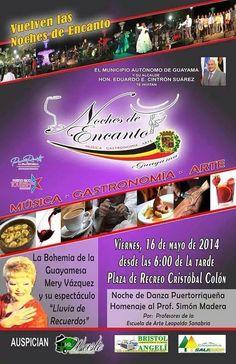 Noches de Encanto: Música, Gastronomía y Arte @ Guayama #sondeaquipr #nochesdeencanto #guayama