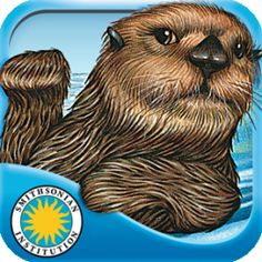 Otter on His Own from Oceanhouse Media's Smithsonian Collection. It is available through iTunes and Google Play for $2.99. This app is based on a book by the same name, but the illustrations have been updated and allow for some interaction. In this digital version, kids can read on their own, listen to the story with highlighted narration, and tap on different items they see on the screen to find out what they are, which is great for vocabulary development. 4/18/15