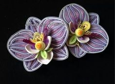 Orchid Neli Quilling, Quilling Work, Origami And Quilling, Quilling Paper Craft, Paper Quilling Tutorial, Paper Quilling Patterns, Quilled Paper Art, Quilling Designs, Kirigami