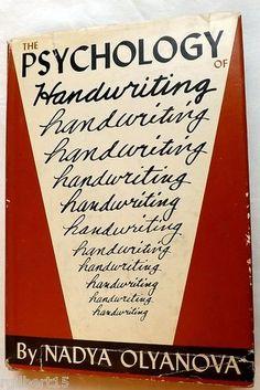 The Psychology of Handwriting by Nadya Olyanova