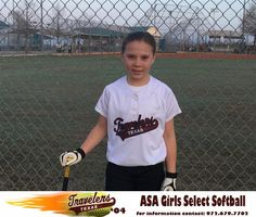 """Olivia or """"O"""" as she is known to her Texas Traveler Teammates is number 19 and plays, 3rd base, 2nd base and Outfield. She is currently in the fourth grade at Hillsboro Intermediate School. O has had 5 seasons of select softball. Her favorite high school softball player is Elexus Trenkle of Hillsboro High School.   In addition to softball, Olivia loves to tumble and play outside."""