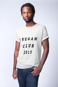 Been vegan since 2015? Get this funny vegan shirt to wear. Click the photo to view more vegan tees. #vegan #veganshirt #gifts