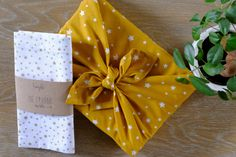 Wrapping Ideas, Furoshiki, Napkins, Tableware, Concepts, Board, Kraft Paper, Packaging, Homemade Gift Boxes