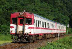 JR East DC52 Morioka-color - 国鉄キハ20系気動車 - 和泉線岩手和井内-中里