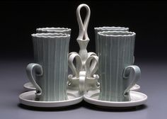 Paul Donnelly cup set and tray (past work 2004)