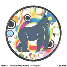 Shop Abstract Gorilla Hockey Puck created by Personalize it with photos & text or purchase as is! Abstract Canvas Art, Canvas Art Prints, Custom Address Labels, Hockey Puck, Decorative Tile, A Team, Wrapped Canvas, Design Art, Kids Rugs
