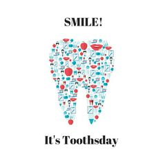 Toothsday the best day of the week! Dental assistants, dentists and hygienist also love Fridays! :) Toothsday the best day of the week! Dental assistants, dentists and hygienist also love Fridays! Dental Puns, Humor Dental, Dental Assistant Humor, Dental Quotes, Dental Hygiene School, Dental Facts, Dental Hygienist, Dental Care, Radiology Humor