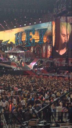 5sos concert, Milano 28/06/2014.