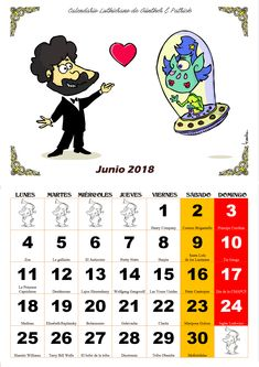 Junio - Calendario Les Luthiers 2018