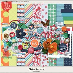 FREE This is Me Digital Kit from Just Because Studio [ Sign up to News]