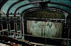 old movie theater from old live theater, now abandoned