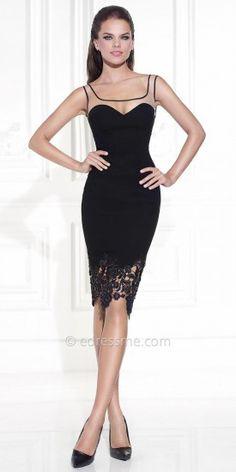 Darci Cocktail Dress by Tarik Ediz
