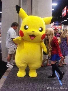 Hot sale! Pikachu Mascot Costume Fancy Dress Outfit                                                                                                                                                     More