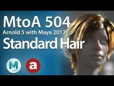 Working With the New Standard Hair Shader in Arnold 5 - Lesterbanks