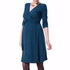 d1cadab6f5b38 Seraphine Green Maternity Wrap Dress Sz 8 Pregnancy Wardrobe, Maternity  Wardrobe, Pregnancy Style,