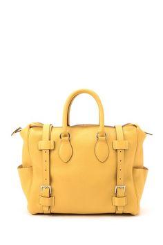 Vintage Hermes Leather Pursangle 31 Stamp Square M Handbag by LXR on @HauteLook