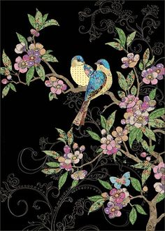 BugArt Jewels ~ Birds & Blossom. JEWELS Designed by Jane Crowther.
