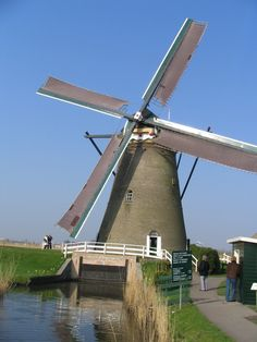 Old fashioned wind power