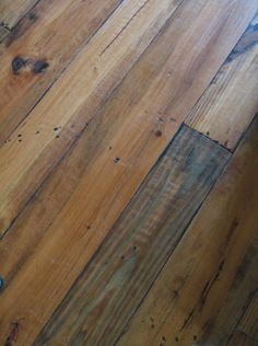 Beautiful floors...Capistrano Heart Pine by Palo Duro Collection