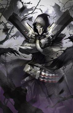 Reaper (Overwatch), Overwatch, Blizzard, Blizzard Entertainment, fandom