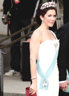anythingandeverythingroyals:  Crown Princess Mary at the gala performance for Queen Margarethe, 2010