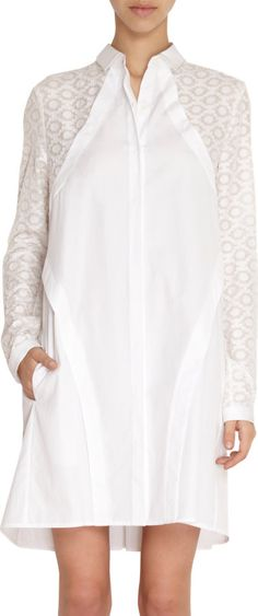 Maiyet Embroidered Sleeve Harness Dress Sale up to 70% off at Barneyswarehouse.com