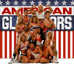 The original, 1980s American Gladiators...big hair included.