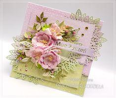 z papieru robione - kartka urodzinowa / birthday card Handmade Cards, Decorative Boxes, Card Making, Craft Cards, Diy Cards, Decorative Storage Boxes, Cards To Make, Homemade Cards, Letter Crafts