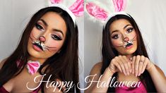 Cute Bunny Makeup Tutorial | Halloween