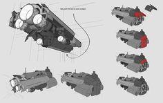 Engine Comp and Ship Parts, Chris Ortega on ArtStation at http://www.artstation.com/artwork/engine-comp