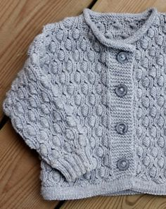 1f18b59c609d7 Pod stitch Baby Cardigan. Ravelry Free Knitting PatternsBaby ...