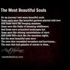The Most Beautiful Souls