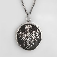 Angels Talisman Necklace. Angels are the bearers of good new and symbolize light and joy.