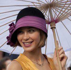 Flattering cloche #millinery #judithm #hats
