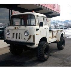 Forward Control Jeep