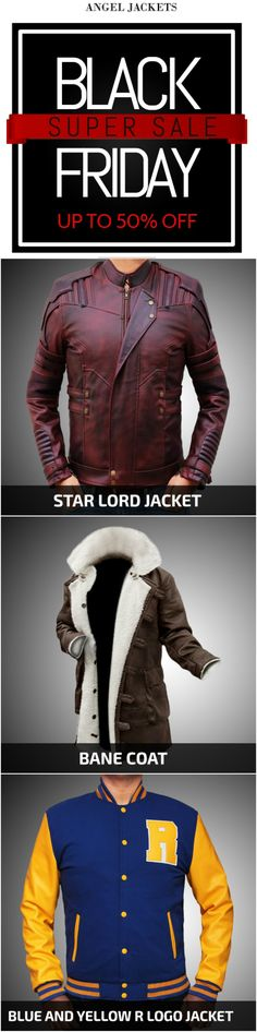 Get the best #blackfriday deal on #AngelJackets. #DiscountedPrice. #ShopNow #blackfridaysale  #blackfriday2017 #celebritystyle #mensfashion #geek #fashion