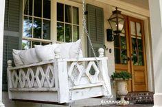 Vintage Finds: Inspiration: Porch Swings