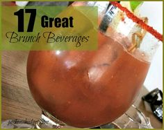 17 GREAT Brunch Beverages to Try