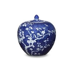 Williams-Sonoma Blue & White Ginger Jar (285 AUD) ❤ liked on Polyvore featuring home, home decor, williams-sonoma, blue and white porcelain ginger jars, blue white ginger jar, blue and white ginger jars and handmade home decor