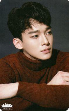 """Chen for """"Sing For You"""" Official Goods - Photocard Exo Chen, Daejeon, Kris Wu, K Pop, Tao, Exo Sing For You, Shinee, Kim Jong Dae, Chanyeol Baekhyun"""