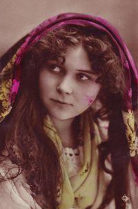 "hungarian Gypsy women   Hungarian, gipsyeyed."" (U11.983)"