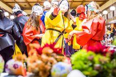Hyottoko dancers(ひょっとこ踊り)
