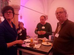 Lunch in de kapel. Symposium 'De kunst van het schrijven', Centraal Museum, Utrecht, 29-11-2013.