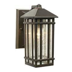 """J du J Sierra Craftsman 10"""" High Outdoor Wall Light"""