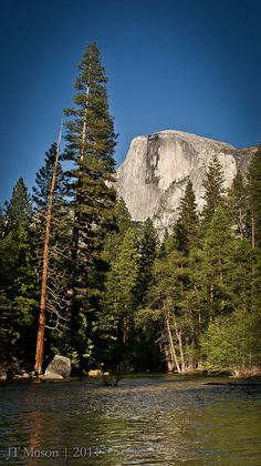 Half Dome, Merced River, Yosemite National Park, California